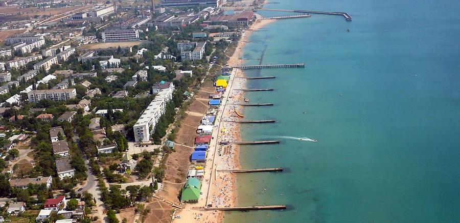 Отдых в Феодосии - песчаные пляжи